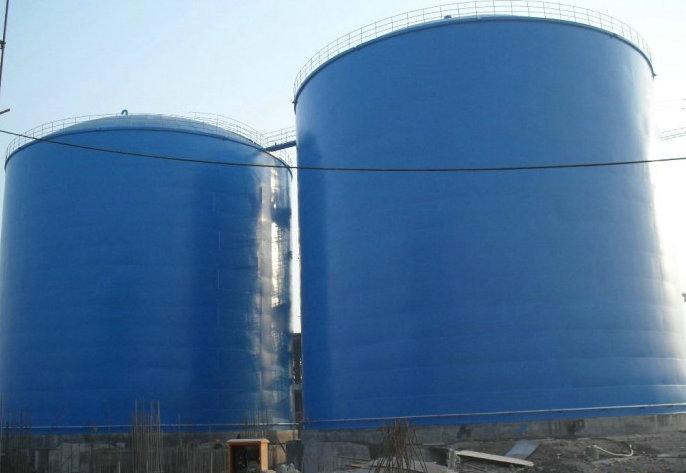 水泥钢板仓单库储量3万吨