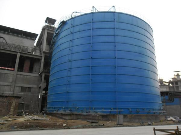 5000立方粉煤灰钢板库
