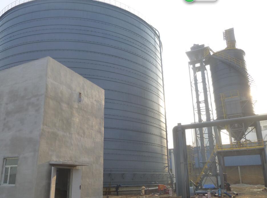 河北热电大型粉煤灰钢板库设备