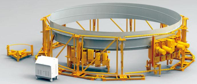 螺旋钢板仓卷仓设备